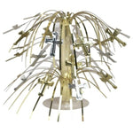 Mini Cascade Centrepiece - Cross (Gold & Silver) (263018)