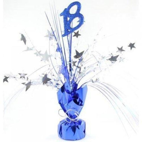 Spangle Centrepiece - 18 Blue (ZSBW1635)