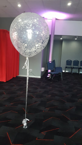 "18"" Confetti balloon without tassel"