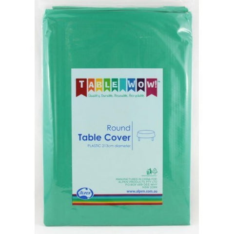 Tablecover - Round - Hunter Green