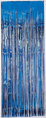 Metallic Curtain - Foil - True Blue (5350TB)