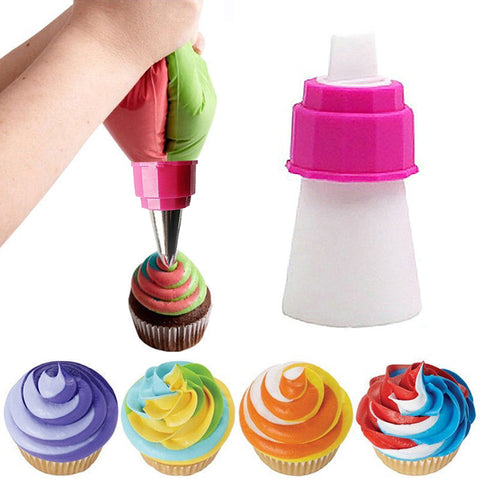Icing Piping Bag Nozzle Converter 2 color