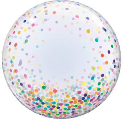 Bubble - Colourful Confetti Dots (57791)