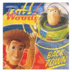 Napkins - Toy Story - Buzz Woody Back in Town - Pkt 16