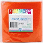 Napkins - Lunch - Orange