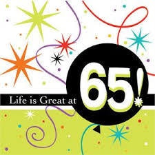 Napkins - 65th (Life is Great)