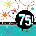 Napkins - 75th (Life is great)