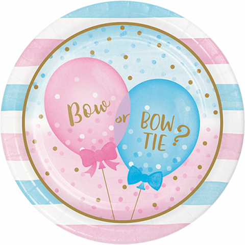 Plates - Dinner - Gender Reveal (Boy/Girl) (336064)