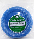 Plates - Lunch - Pkt 25 - Royal Blue