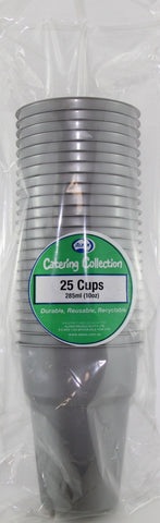 Cups - Pkt25 - Silver