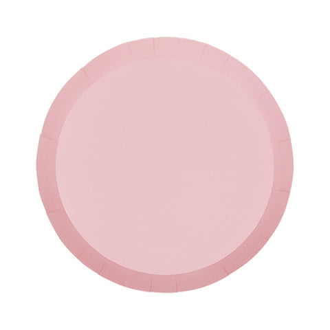 Snack Plates - Paper - Pastel Pink (6100CPP)
