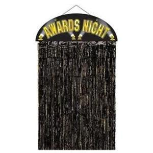 Door Curtain - Awards Night