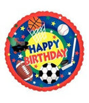 "Foil - 18"" - Happy Birthday (Sport)"