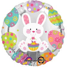 "Foil - 18"" - Happy Easter (28307)"
