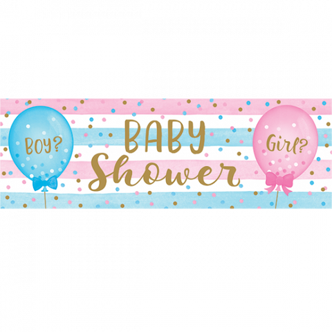 Banner - Gender Reveal - Baby Shower (336687)