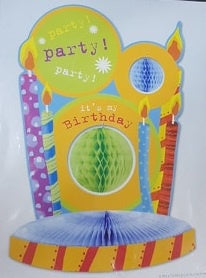 Centrepiece - Party Party Party! It's my birthday!