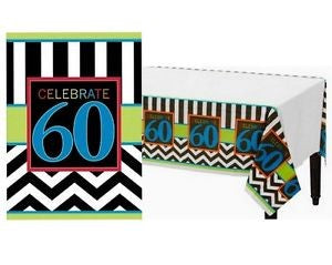 Tablecover - Celebrate 60th (571368)