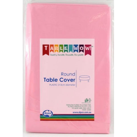 Tablecover - Round - Light Pink