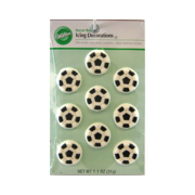 Wilton Icing Decorations - Soccer (710-0477)