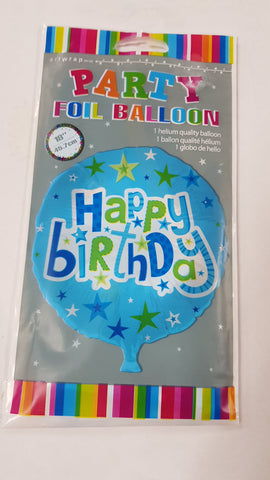 "Foil - 18"" - Happy Birthday (E83218)"