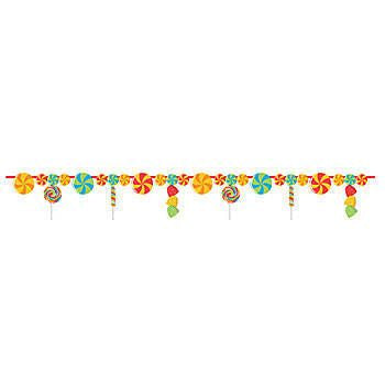Banner - Sugar Buzz Candy Garland