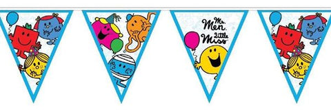 Flag Bunting - Mr Men & Little Miss (E1426)