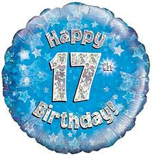 "Foil - 18"" - Happy 17th Birthday (227970)"