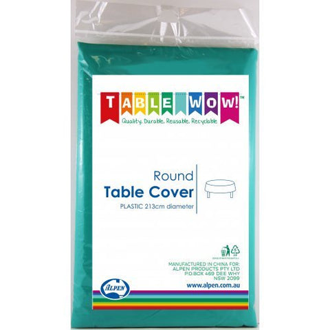Tablecover - Round - Forrest Green