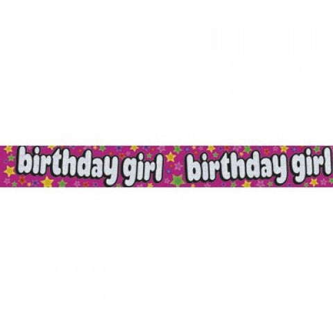 Banner - Birthday Girl (QAH035F)