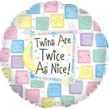 "Foil - 18"" - Twins are twice as nice! (1145566)"