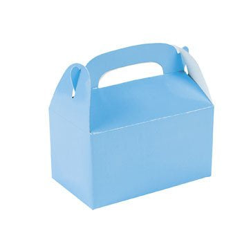 Mini Treat Boxes - Pkt 12 - Light Blue - Small