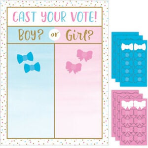 Gender Reveal (Girl/Boy) - Cast Your Vote Game (336683)