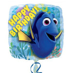 "Foil - 18"" - Happy Birthday Finding Dory (32307)"