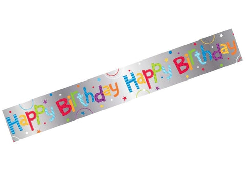 Banner - Happy Birthday (E2946)