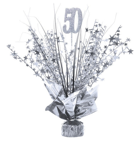 Spangle Centrepiece - 50 Silver (E3176)