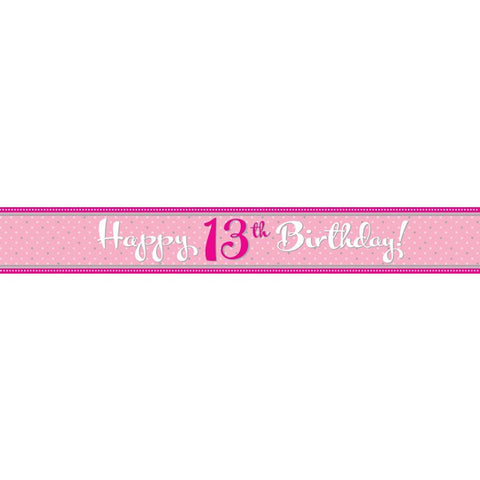 Banner - Happy 13th Birthday