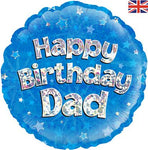 "Foil - 18"" - Happy Birthday Dad (229097)"