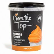 Buttercream Icing - 425g - ORANGE