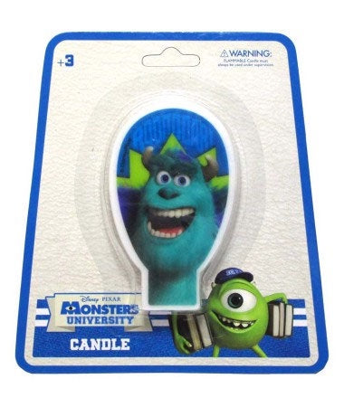 Candle - Monsters University (070533) *** CLEARANCE