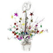Spangle Centrepiece - 60th - Multicoloured