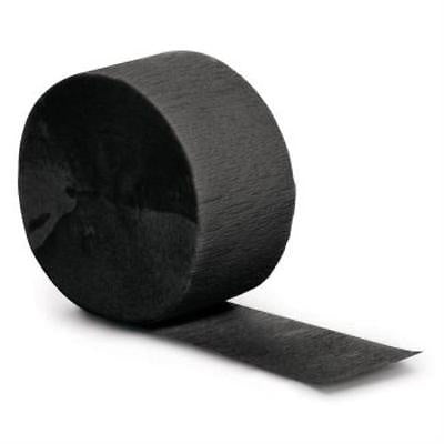 Crepe - Roll - Pkt 1 - Black (078030)