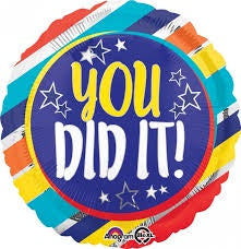 "Foil - 18"" - You Did It! (35178)"