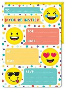 Invitations - Emoji (E4439)