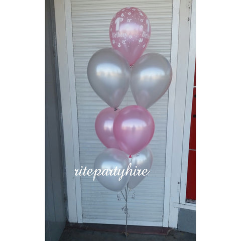 Helium Balloon Package - No 3 - $180