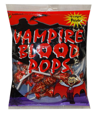 Vampire Blood Pops - 200g - approx 20 pce