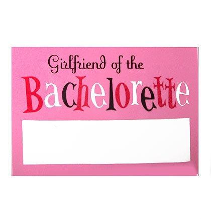 Name Tags - Bachelorette Party