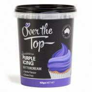 Buttercream Icing - 425g - PURPLE