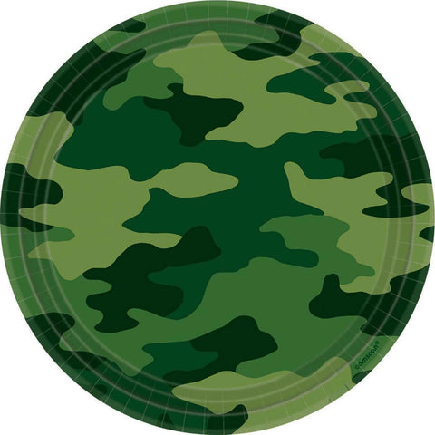 "Plates - 9"" - Camo/Minecraft/Fortnite (558128)"