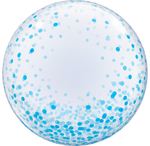 Bubble - Blue Confetti Dots (57789)