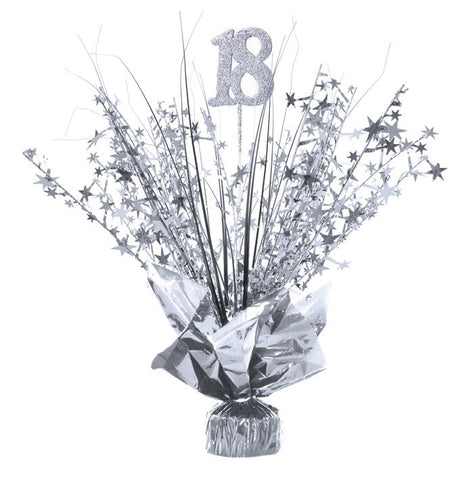 Spangle Centrepiece - 18th Silver (E3172)